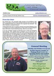 Image October 2019 Newsletter